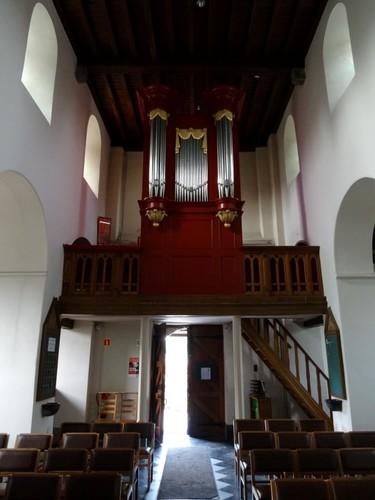 Gent Afsneedorp zonder nummer Orgel in de Sint-Jan-Baptistkerk