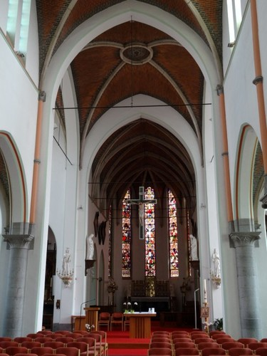 De Pinte Pintestraat zonder nummer Interieur van de kerk