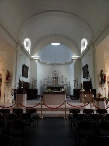 Sint-Martens-Latem Dorpsstraat zonder nummer Interieur van de Sint-Aldegondekerk