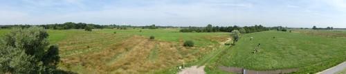 Panoramazicht op de Maatjes