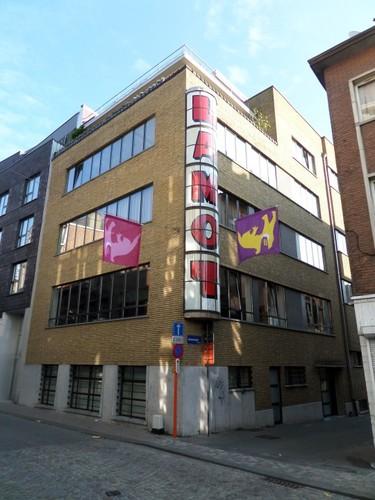 Mechelen Adegemstraat Laboratorium van brouwerij Lamot ontworpen door J. Lauwers