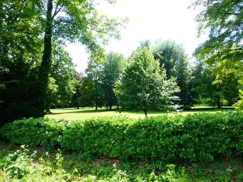 Kampenhout, Balkestraat, tuin bij kasteel van Wilder