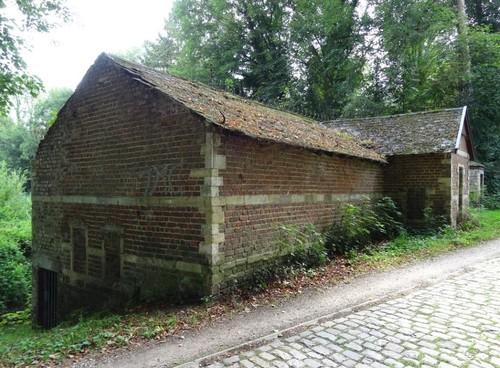 Bertem Boskee 9-11 Zuidoostzijde van bij het kasteel gelegen watermolen