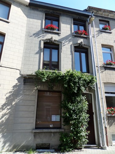 Mechelen Koolstraat 23 Huis ontworpen door architect Klerkx en zoon in 1909