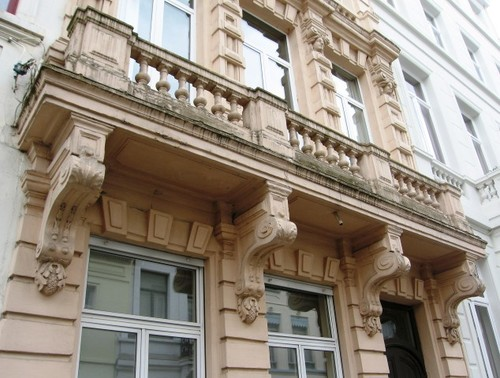 Antwerpen Van Noortstraat 18 balkon