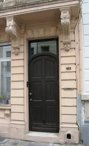 Antwerpen Van Noortstraat 18 portaal