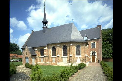 Herentals Nederrij zonder nummer, 133, 133A Kapel zuidoostgevel