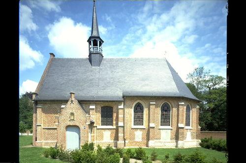 Herentals Nederrij zonder nummer, 133, 133A Kapel zuidgevel