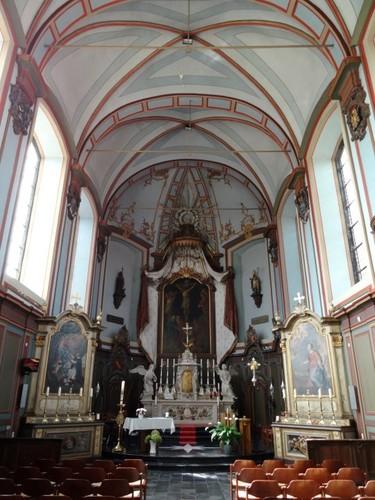 Lierde Kartuizerstraat zonder nummer Interieur van de kerk