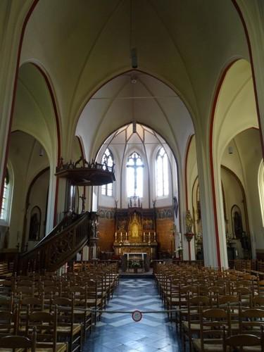 Zottegem Parkstraat 2A Interieur van de kerk