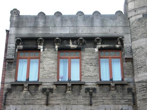 Antwerpen Lange Leemstraat 374-376 attiek