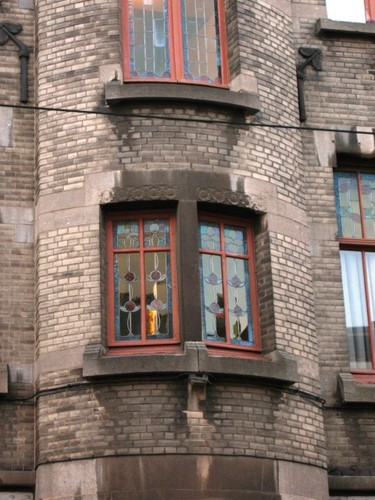 Antwerpen Lange Leemstraat 374-376 traplicht