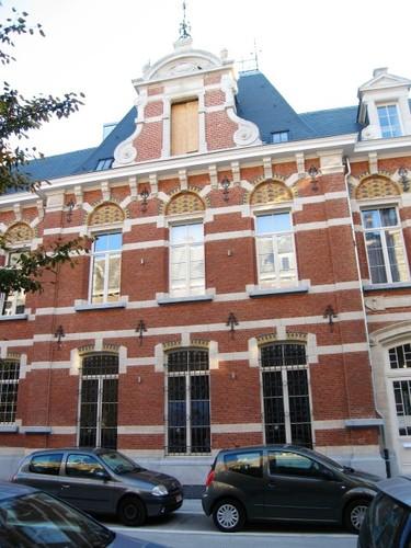 Antwerpen Militair Hospitaal hoofdapotheek risaliet