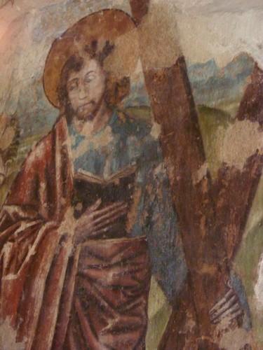 Dendermonde Onze-Lieve-Vrouwkerkplein 1 Onze-Lieve-Vrouwekerk muurschildering