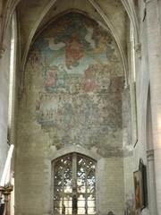 Muurschilderingen Sint-Leonarduskerk