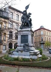 Standbeeld Frederik de Merode