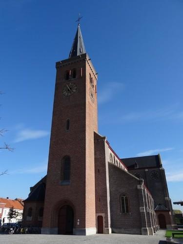 Assenede Boekhoutedorp zonder nummer Parochiekerk Heilig Kruis