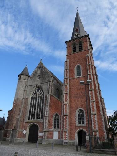 Sint-Laureins Stee zonder nummer Parochiekerk Onze-Lieve-Vrouw Hemelvaart