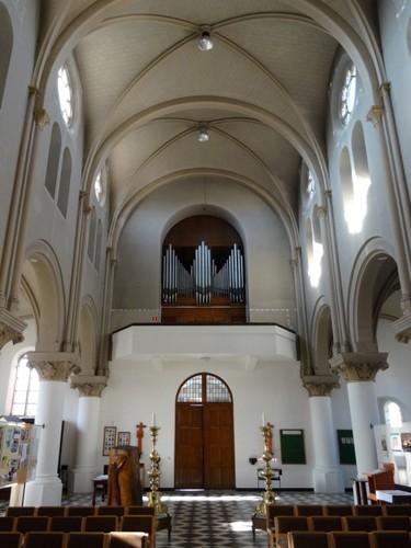 Assenede Boekhoutedorp zonder nummer Orgel in parochiekerk Heilig Kruis