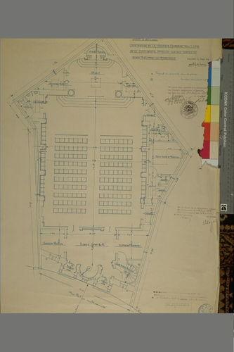 Synagoge (Joseph De Lange): plan, plattegrond