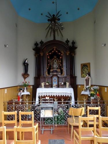 Diest Delphine Alenuslaan zonder nummer Interieur van de kapel Onze-Lieve-Vrouw van Bijstand