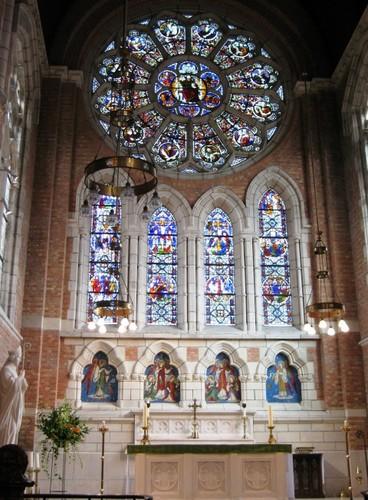 Antwerpen Gré'trystraat 39 kerk oostraam