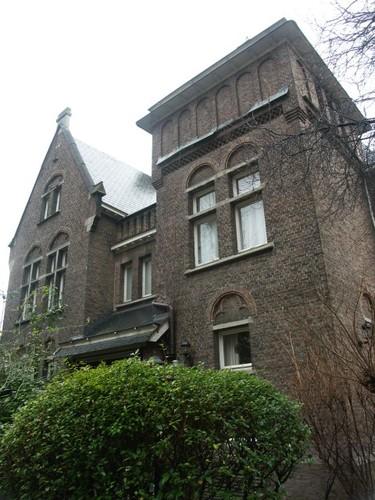 Antwerpen Grétrystraat 39 vicarage voorgevel