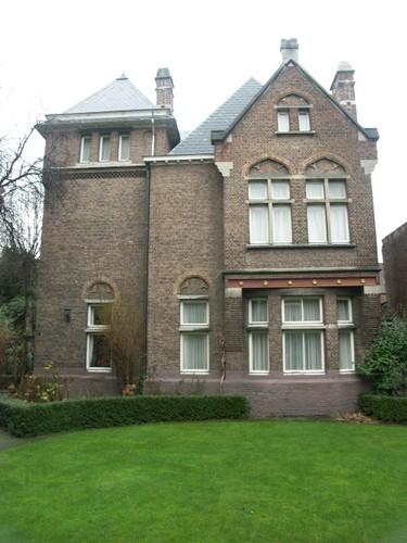 Antwerpen Grétrystraat 39 vicarage zijgevel