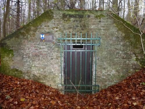 Tervuren Warande IJskelder omgeving Koloniënpaleis