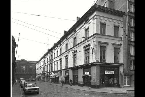 Gent Schouwburgstraat pare straatzijde