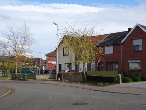 Genk Delcourtplaats straatbeeld
