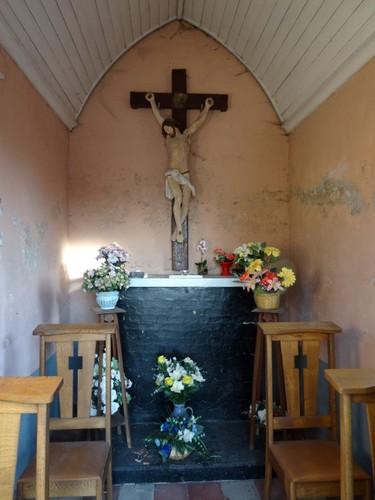 Nevele Lostraat Interieur van de kapel