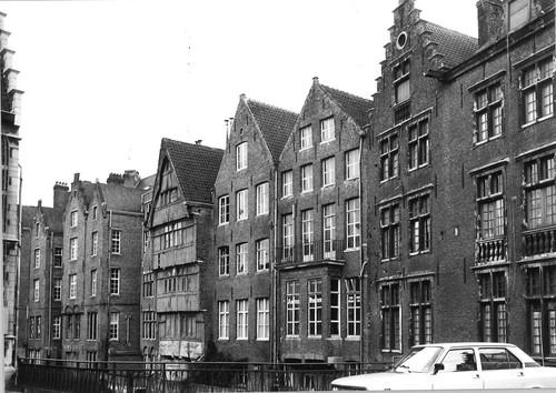 Gent Jan Breydelstraat achtergevels