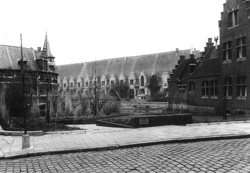 Gent Jan Breydelstraat tuintje