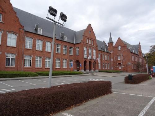Genk Kerkstraat 1-3 meisjesschool met klooster