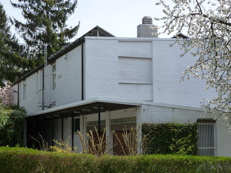 Woning naar ontwerp van j. hendrickx en y. stevens erfgoedobjecten