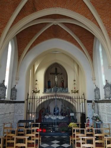 Eeklo Molenstraat zonder nummer Interieur van de Heilig Grafkapel