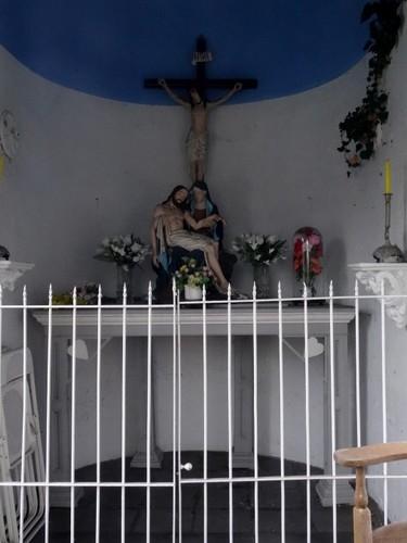 Kaprijke Kasteeldreef zonder nummer Interieur van de kapel van de Heilige Familie