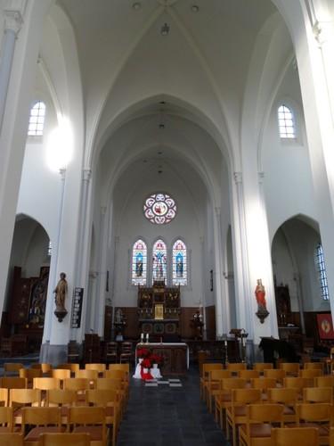 Sint-Laureins Kerkplein zonder nummer Interieur van de parochiekerk Sint-Margareta