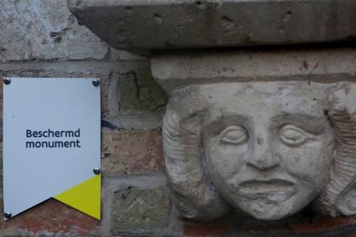 Brugge Hendrik Conciencelaan zonder nummer Oud waterhuis detail