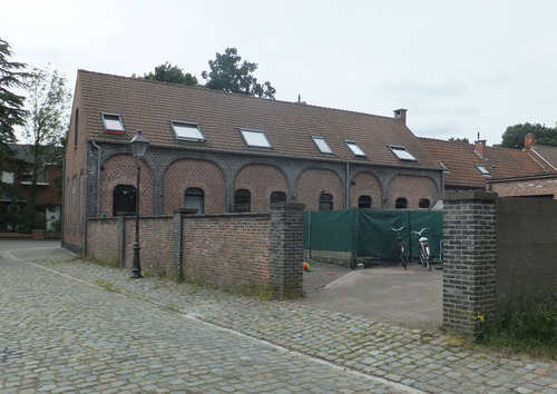 Antwerpen Schouwvegerstraat 9-13 achtergevel