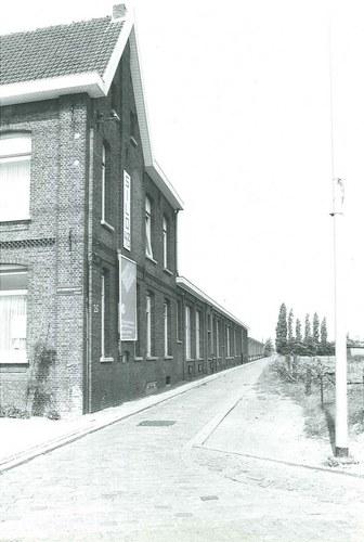 Antwerpen Monnikenhofstraat 25 zijgevel