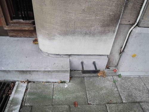 Antwerpen Vlaamsekunstlaan 19 voetschraper