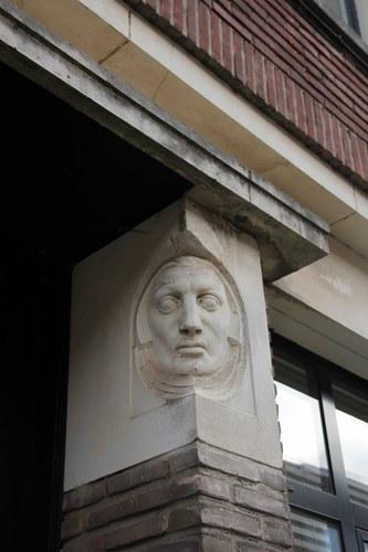 Antwerpen Edgard Casteleinstraat 32 mannenhoofd