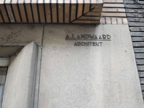 Antwerpen Ryckmansstraat 29 architect