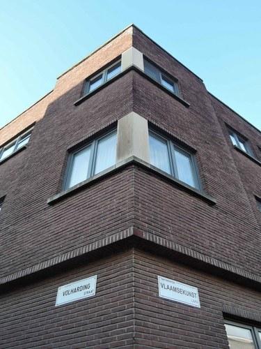 Antwerpen Vlaamsekunstlaan 33 hoek