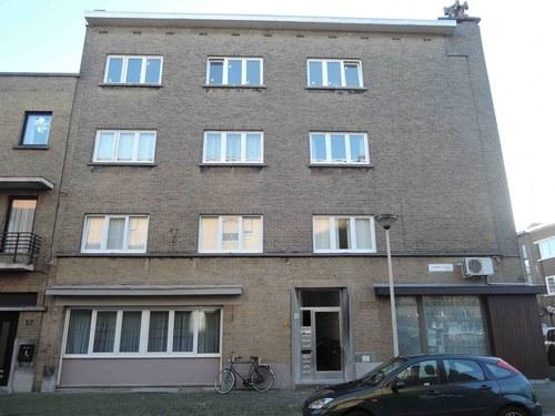 Antwerpen Volhardingstraat 22-24 zijgevel links