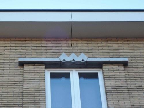 Antwerpen Volhardingstraat 58 hoek detail