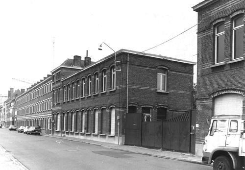 Gent Groendreef 217-218 ingang bureaus