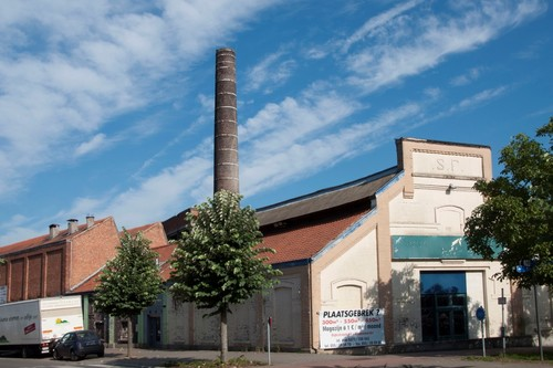 Oudenaarde Dijkstraat 45-47 Ververijgebouw